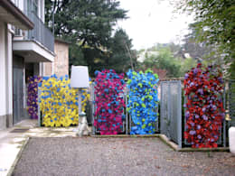Jardines de estilo ecléctico por Dima snc di Maiocchi Dario e c.