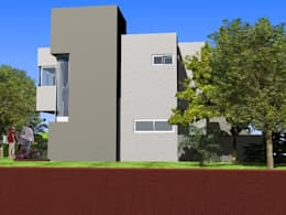 Complejo Duplex: Casas de estilo moderno por ARQUITECTA CARINA BASSINO