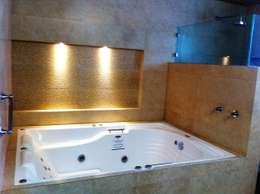 modern Bathroom by GRUPO ESGO