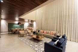Livings de estilo moderno por Elisa Vasconcelos Arquitetura  Interiores