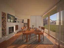 stylishes einfamilienhaus f r moderne bauherren. Black Bedroom Furniture Sets. Home Design Ideas