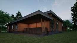 Проект дома в стиле райта: Дома в . Автор – Way-Project Architecture & Design