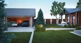 Garages de estilo clásico por Way-Project Architecture & Design