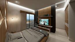 Habitaciones de estilo moderno por NOGARQ C.A.
