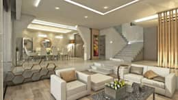 modern Living room by NOGARQ C.A.
