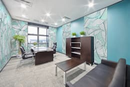 tropical Study/office by Pixers