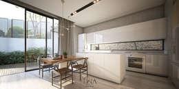 Cocina: Cocinas de estilo moderno por TW/A Architectural Group