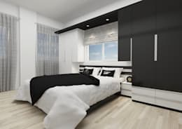 minimalistic Bedroom by PRATIKIZ Mimarlık/ Architecture