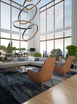 Salas de estilo moderno por VITTA-GROUP