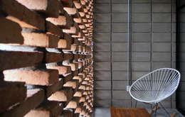 Hiên, sân thượng by Apaloosa Estudio de Arquitectura y Diseño
