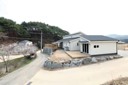 Дома в . Автор – 춘건축