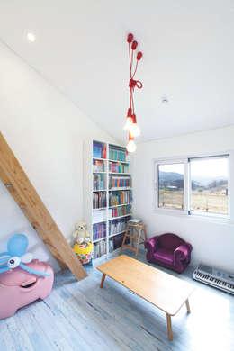 Детские комнаты в . Автор – 춘건축