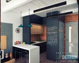 modern Kitchen by Студия дизайна интерьера 'REDESIGN'