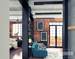 Walls & flooring by Студия дизайна интерьера 'REDESIGN'