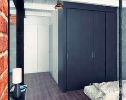 Corridor & hallway by Студия дизайна интерьера 'REDESIGN'