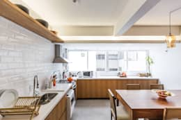 scandinavian Kitchen by Kali Arquitetura