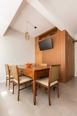 Kali Arquitetura: iskandinav tarz tarz Oturma Odası