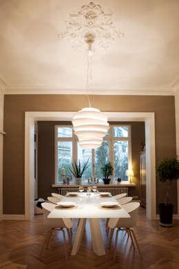 modern Dining room by Carina Buhlert Interior Design