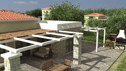 Jardines de estilo mediterráneo por Gülşahin