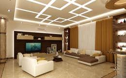 modern Living room تنفيذ rashaatalla