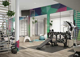 modern Gym by Pixers