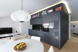 Salon de style de style Minimaliste par PAULO MARTINS ARQ&DESIGN