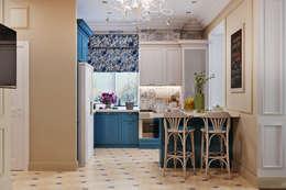 Cocinas de estilo ecléctico por Студия дизайна Interior Design IDEAS