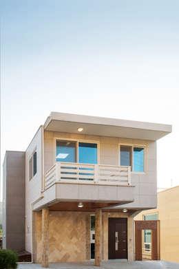 Дома в . Автор – 친친디 하우스 프로젝트