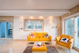 Salon de style de style Moderne par 친친디 하우스 프로젝트