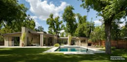 Jardines de estilo moderno por Chibi Moku