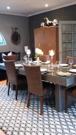 Grey House: eclectic Dining room by CKW Lifestyle