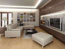 VERO CONCEPT MİMARLIK – : modern tarz Oturma Odası