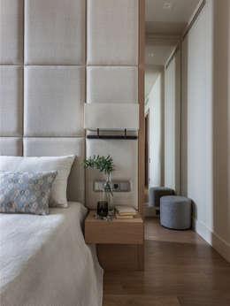 Projekty,  Sypialnia zaprojektowane przez Дизайн бюро Татьяны Алениной