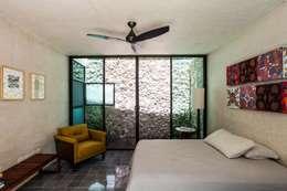 臥室 by Taller Estilo Arquitectura