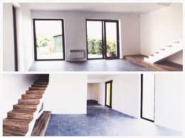 Aulaquattro: modern tarz Oturma Odası