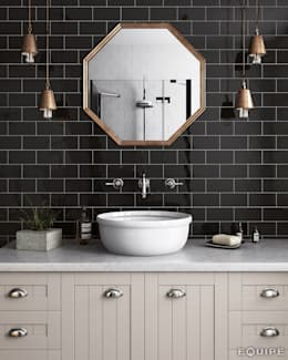 modern Bathroom by Equipe Ceramicas