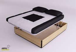 minimalistische Schlafzimmer von Arpel