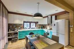 Projekty,  Kuchnia zaprojektowane przez GOOD WOOD