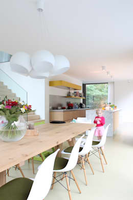 modern Kitchen by studio k interieur en landschapsarchitecten