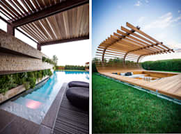 modern Pool by Alessandro Isola Ltd