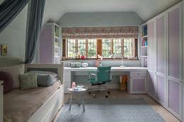 Projekty,  Sypialnia zaprojektowane przez Roselind Wilson Design