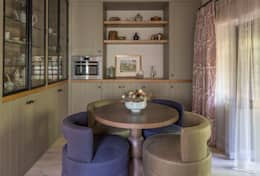 eclectic Kitchen by Roselind Wilson Design