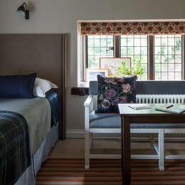 Chambre de style de style eclectique par Roselind Wilson Design