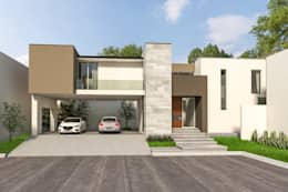 minimalistic Houses by Indigo Arquitectos