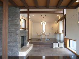 リビング-ダイニング: シーズ・アーキスタディオ建築設計室が手掛けたリビングです。