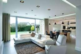 Гостиная в . Автор – Des Ewing Residential Architects