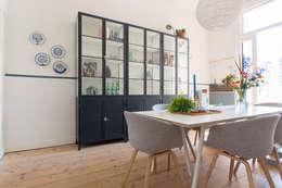 scandinavian Dining room by Studio Binnen