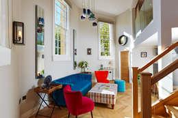 Projekty,  Salon zaprojektowane przez Etons of Bath