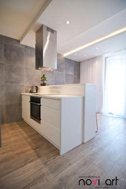 Cocinas de estilo minimalista por Novi art