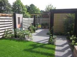 modern Garden by Van Dijk Tuinen Groningen